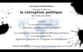 La corruption politique-Session 1-4