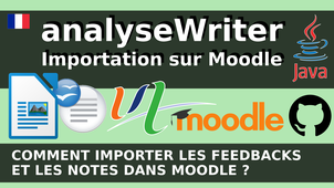 AnalyseWriter - Comment importer des feedbacks et les notes dans Moodle