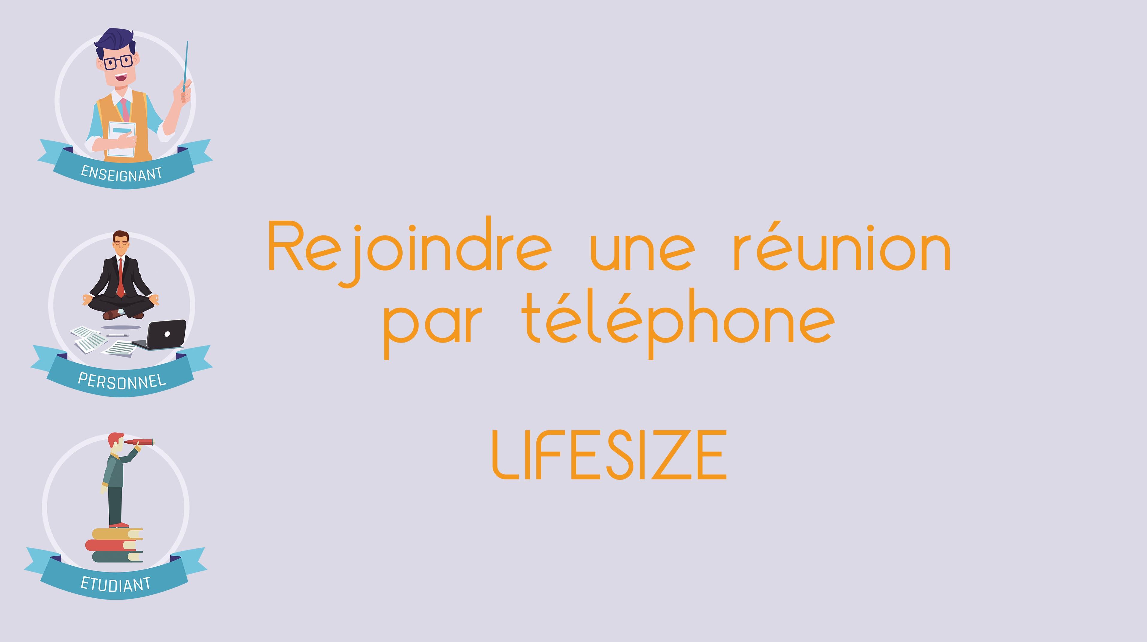 Rejoindre une réunion par téléphone