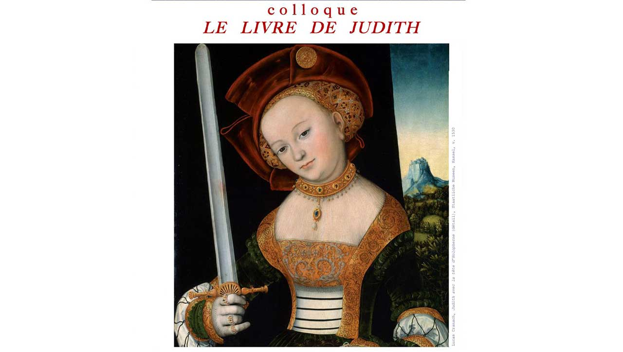 Le Livre de Judith / Introduction