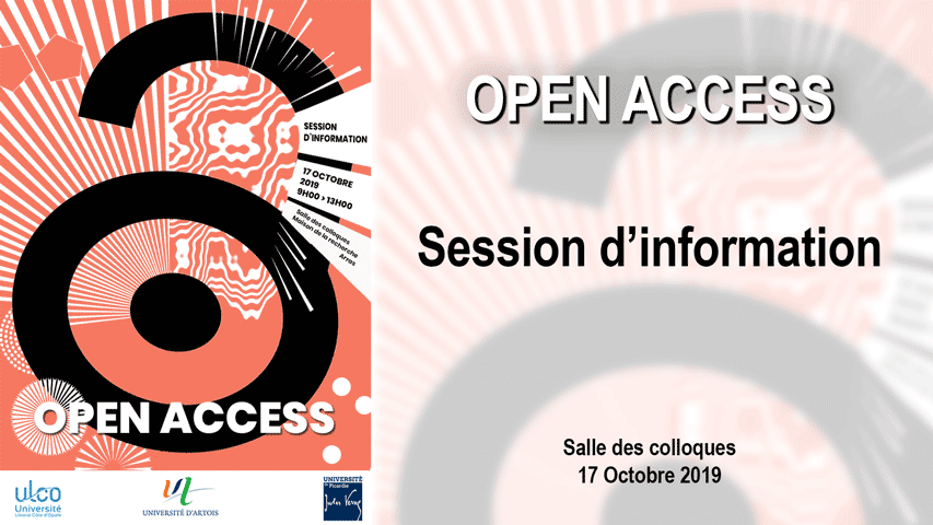 Session d'information Open Access